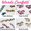 Words Confetti