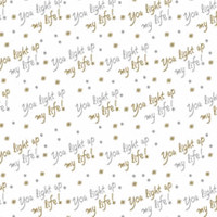 You Light Up My Life Cellophane Roll 24 x 100