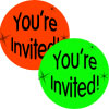 stickers - you're invited