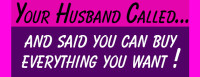 30 Stickers - Your Husband Called