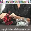 Free Online Gift Wrapping Technique Video at mygirlfriendshouse.com
